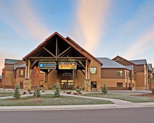 Wyndham Vacation Resorts at Glacier Canyon Timeshares